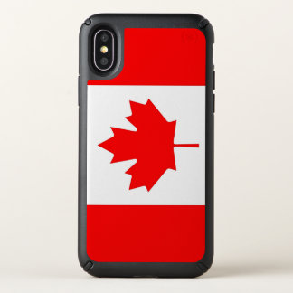 Speck Presidio iPhone X Case with Canada flag