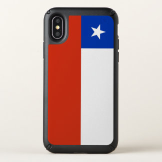 Speck Presidio iPhone X Case with Chile flag