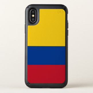 Speck Presidio iPhone X Case with Colombia flag