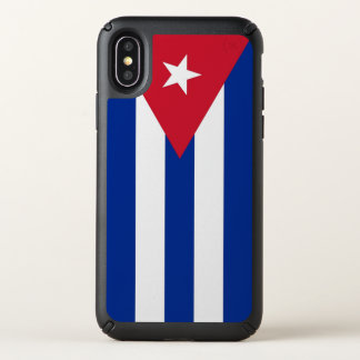 Speck Presidio iPhone X Case with Cuba flag