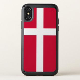Speck Presidio iPhone X Case with Denmark flag