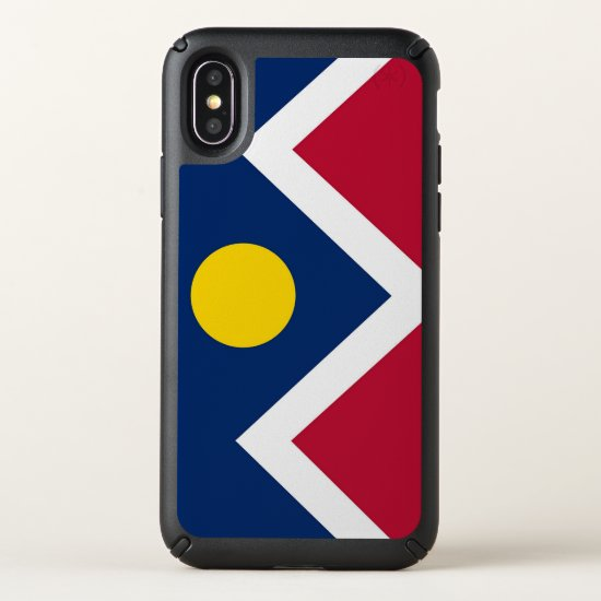 Speck Presidio iPhone X Case with Denver flag