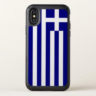 Speck Presidio iPhone X Case with Greece flag