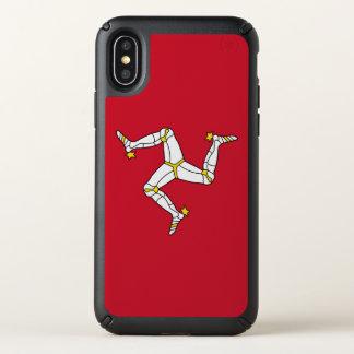 Speck Presidio iPhone X Case with Isle of Man flag