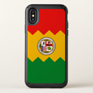Speck Presidio iPhone X Case with Los Angeles flag