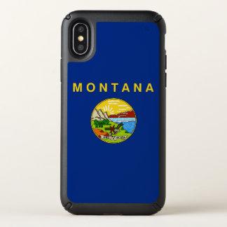 Speck Presidio iPhone X Case with Montana flag