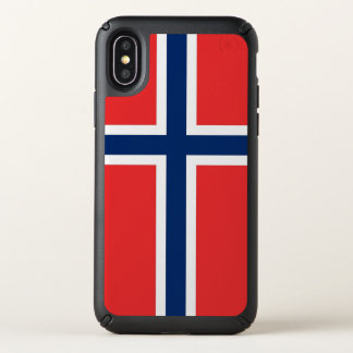 Speck Presidio iPhone X Case with Norway flag