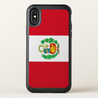 Speck Presidio iPhone X Case with Peru flag
