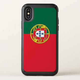 Speck Presidio iPhone X Case with Portugal flag