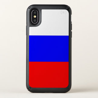 Speck Presidio iPhone X Case with Russia flag