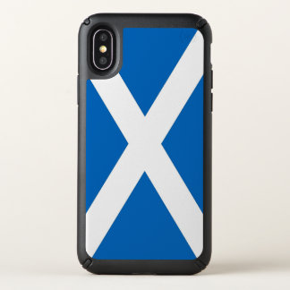Speck Presidio iPhone X Case with Scotland flag