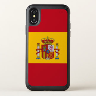 Speck Presidio iPhone X Case with Spain flag