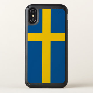 Speck Presidio iPhone X Case with Sweden flag
