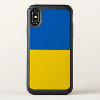 Speck Presidio iPhone X Case with Ukraine flag