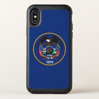 Speck Presidio iPhone X Case with Utah flag