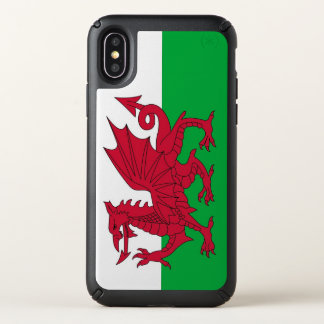 Speck Presidio iPhone X Case with Wales flag