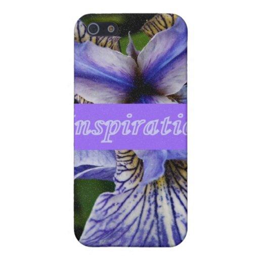 Speckcase salvaje del teléfono 4 del wildflower i  iPhone 5 protectores