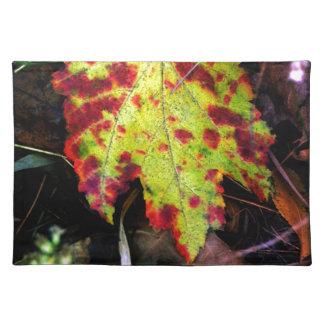 Speckled Autumn Leaf Placemat