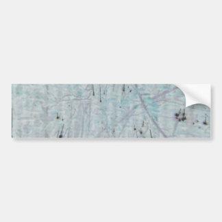 Speckled Blue Bumper Sticker