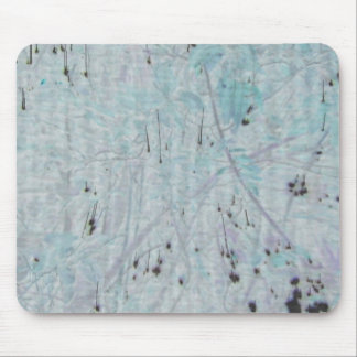 Speckled Blue Mouse Pad