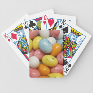 Speckled Colored Jelly Bean Easter Eggs Bicycle Poker Cards