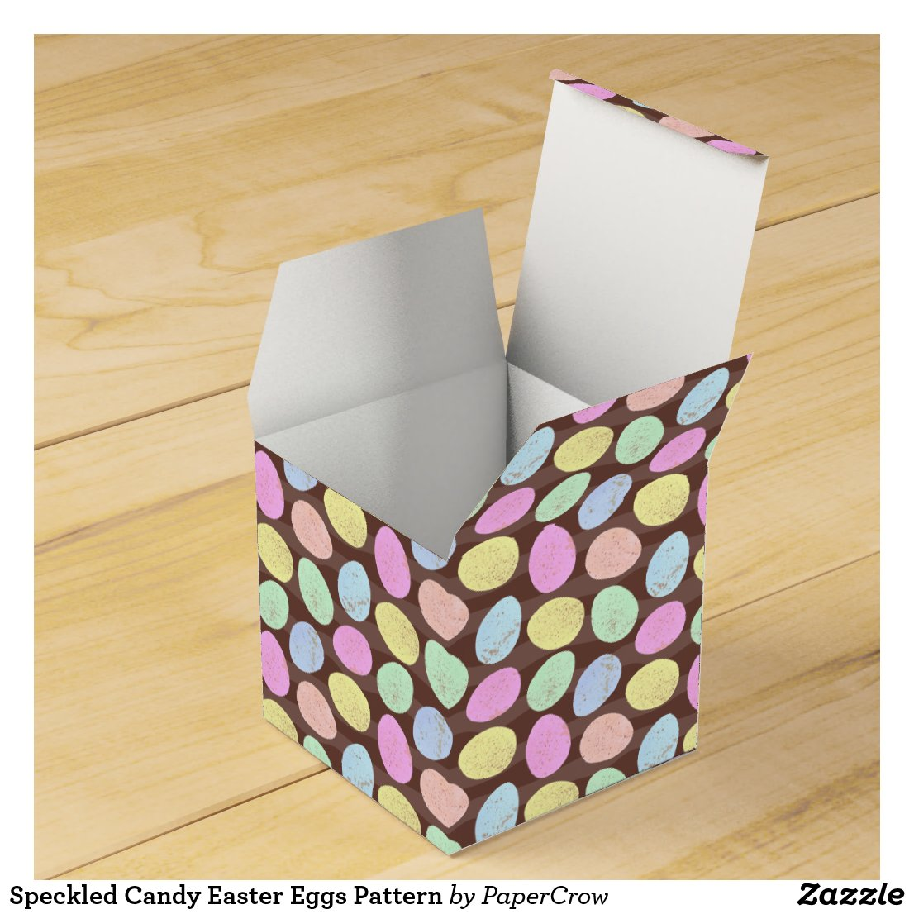 Speckled Easter Eggs Favor Box