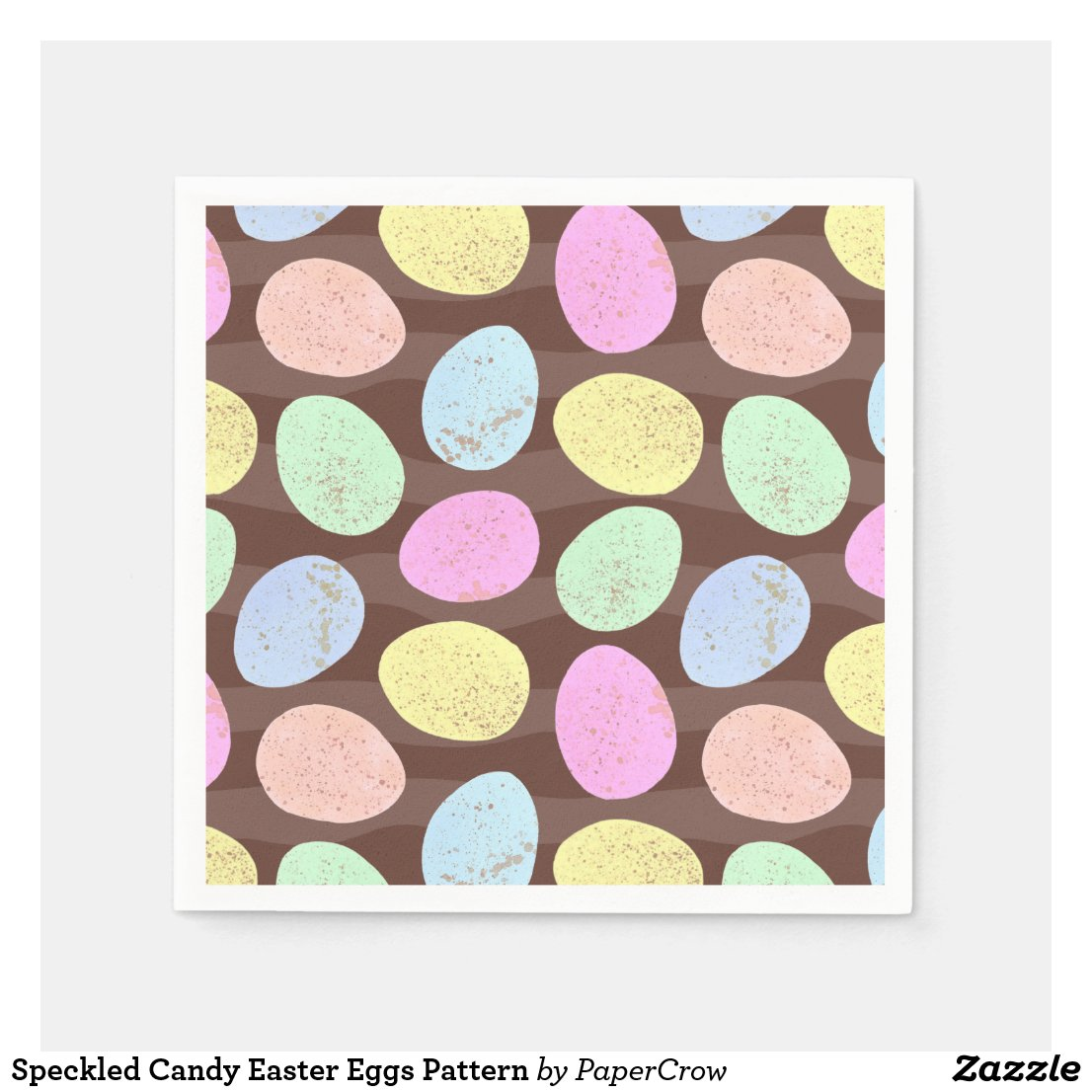 Speckled Easter Eggs Paper Napkin