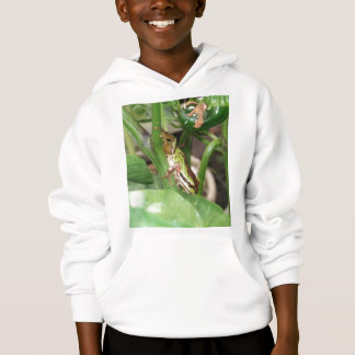 Speckled Frog in the Pepper Plant Hoodie