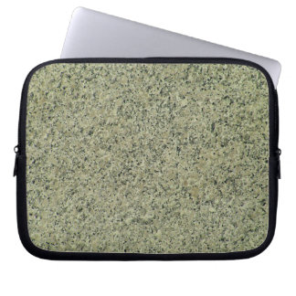 Speckled Grey Marble Texture Background Computer Sleeves