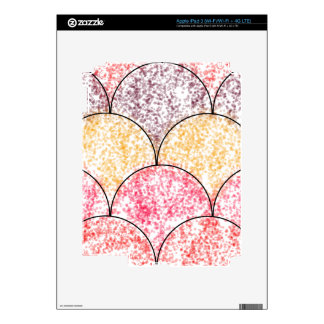 Speckled Mermaid Scales Decal For iPad 3