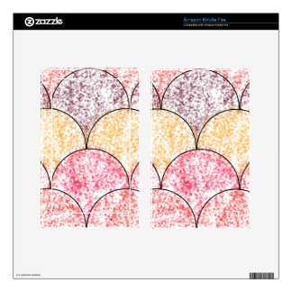 Speckled Mermaid Scales Kindle Fire Skin