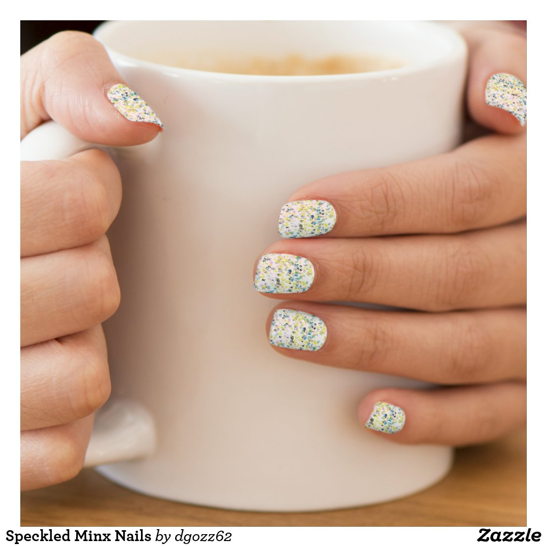 Speckled Minx Nails Minx Nail Wraps