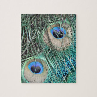 Speckled Peacock Eyes Jigsaw Puzzle