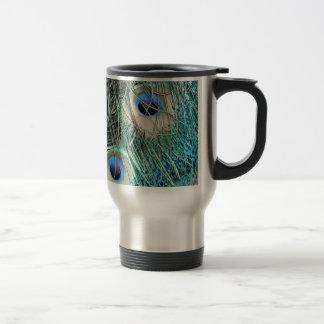 Speckled Peacock Eyes Travel Mug