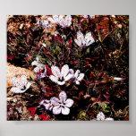 Speckled Purples Print