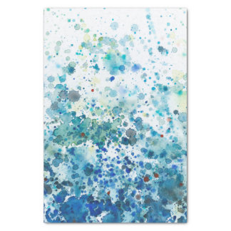 Speckled Sea I Tissue Paper