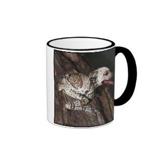 Speckled staffrog ringer coffee mug