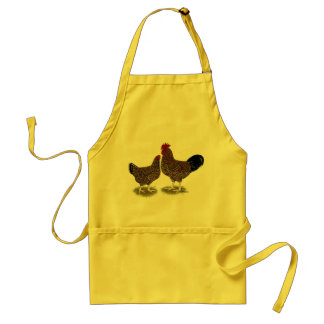 Speckled Sussex Chickens Adult Apron