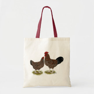 Speckled Sussex Chickens Bags