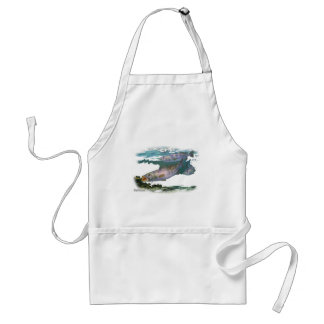 Speckled Trout Feeding Adult Apron