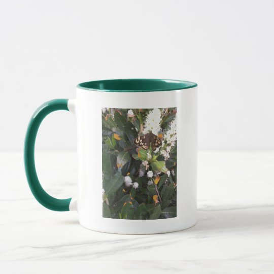 Speckled Wood Butterfly Mug