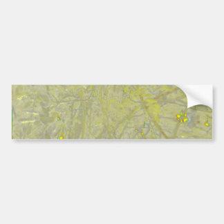 Speckled Yellow Bumper Sticker