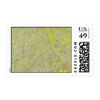 Speckled Yellow Postage Stamp
