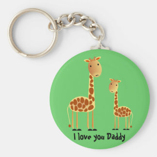 Speckles Father`s Day Key Chain