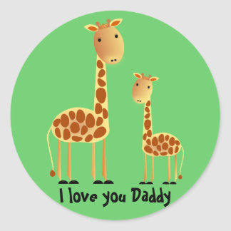 Speckles Father`s Day Sticker