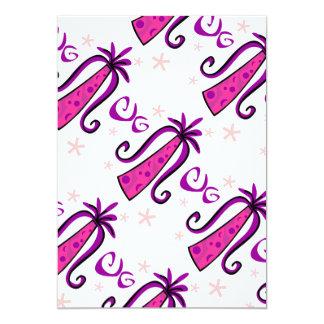 SPECL048 GIRLY FUN PURPLE PINK GIFT BOX SWIRLS PRE CARD