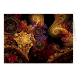 Spectacle Fractal Greeting Card
