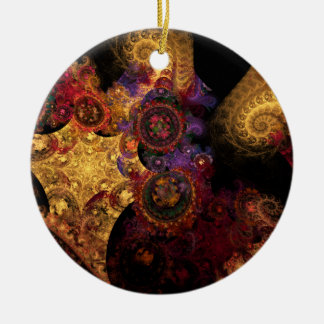 Spectacle Fractal Ornament