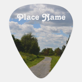Spectacle Island in Boston Harbor Guitar Pick