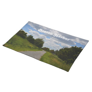 Spectacle Island in Boston Harbor Cloth Place Mat